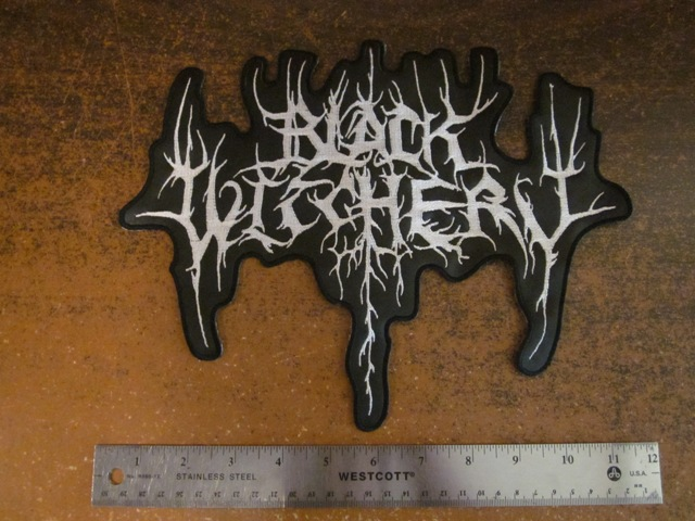 Black Witchery logo patch