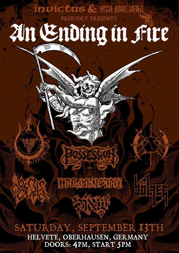 Anendinginfire flyer