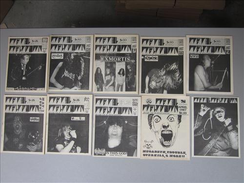 Metal Meltdown zines