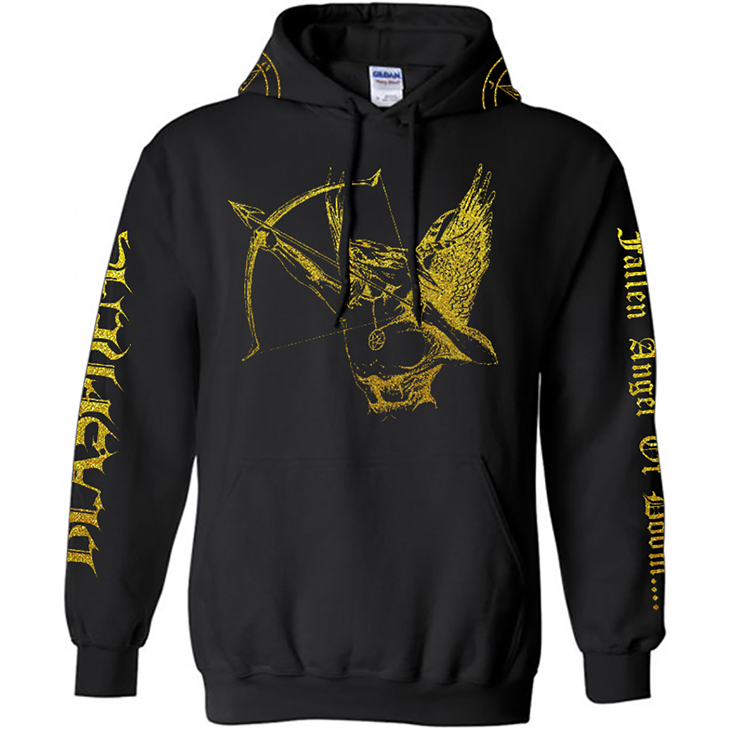 NWN BLASPHEMY ARCHER GOLD SHIMMER PULLOVER FRONT
